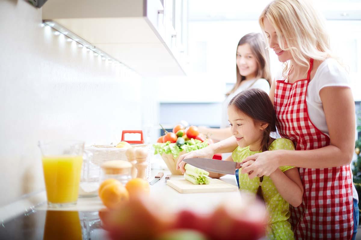 Razones para cocinar en familia