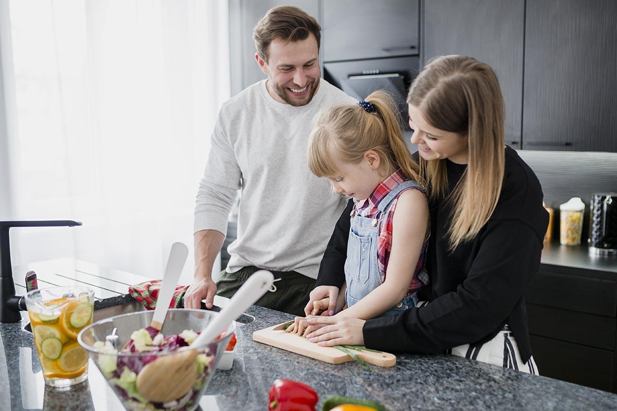 Desafío para la cuarentena: cocinar en familia